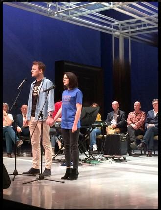 Top Tip: Paul Reid and Sarah Greene singing