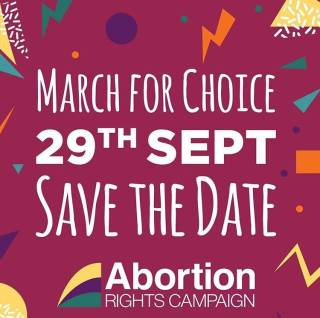 March for Choiec - 29th Sept 2018 - Save the Date.