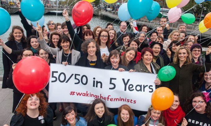 #WakingTheFeminists 50/50 in 5 Years