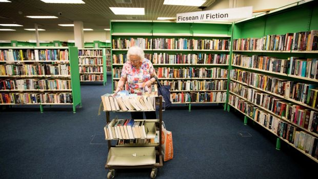 Photograph: Tom Honan/The Irish Times, part of Patrick Freyne's article on the Dublin Central Library in the Ilac Centre.